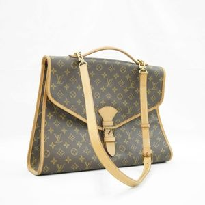 Louis Vuitton Beverly Mm 2 Way Brown Monogram